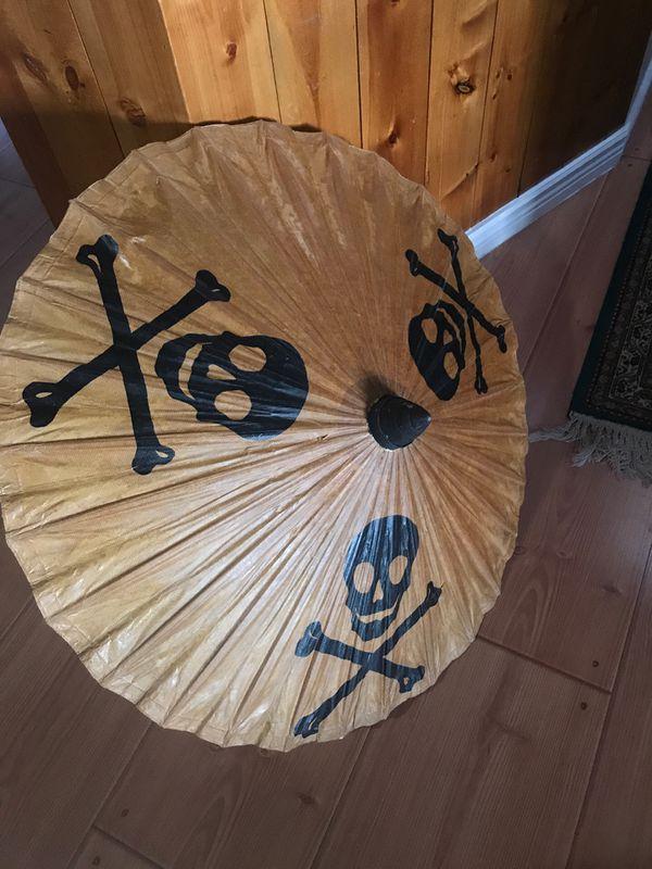 Disney's Pirates of the Caribbean paper umbrella