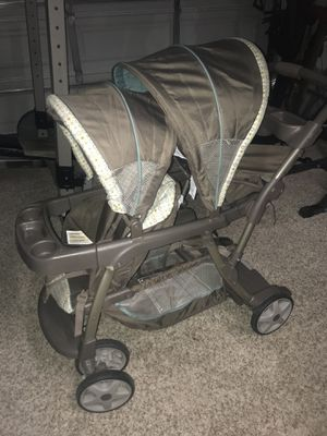Grace double stroller car seat compatible for Sale in Beaumont, CA