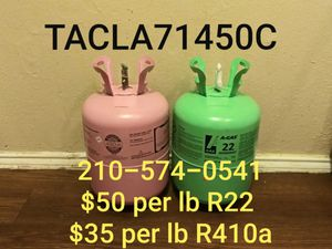 R22 and R410A Freon for Sale in San Antonio, TX