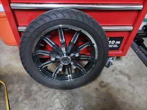 Harley's Davidson Rim & Metzeler tire 17 inch for Sale in Highland, CA