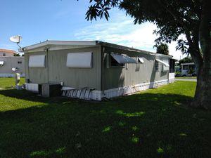 Double wide in 55+ park for Sale in Pompano Beach, FL