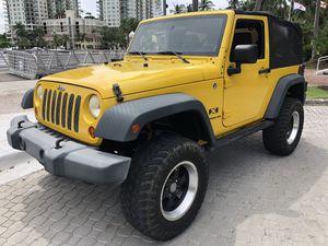 2008 JEEP WRANGLER X for Sale in Oakland Park, FL