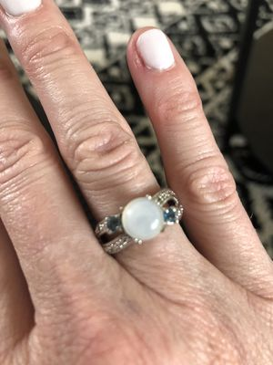Moonstone and Sapphire ring for Sale in Westminster, CO
