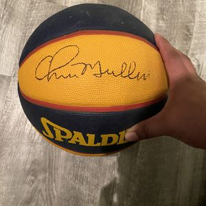 Warriors Autographed Chris Mullins Basketball 2006 for Sale in Santa Maria, CA