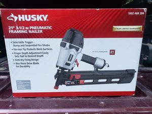 Husky framing nail gun for Sale in La Plata, MD