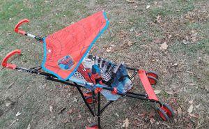 Stroller spiders man para niños exelente condicion for Sale in Hyattsville, MD