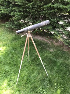 Whitehall Peer Tripod and Telescope for Sale in Pittsburgh, PA