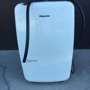 HISENSE Dehumidifier Model DH-70K ISLR 70 Pints for Sale in Naples, FL