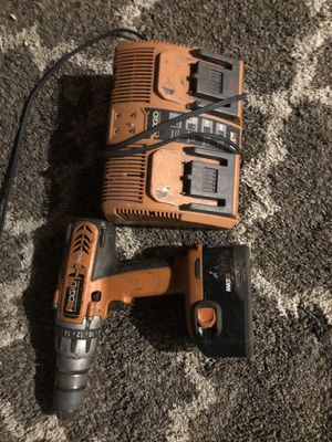 Ridgid drill and charger 45$ for Sale in Detroit, MI