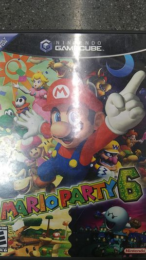 Mario party 6 game cube for Sale in Los Angeles, CA