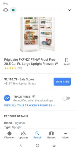 LIKE NEW STAND UP SUPER NICE FREEZER $250 OBO for Sale in Salt Lake City, UT