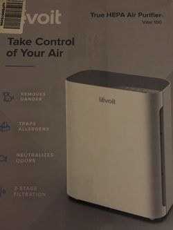 Levoit Vital True Hepa Air Purifier & Extra Filter(Read Description) for Sale in Compton,  CA