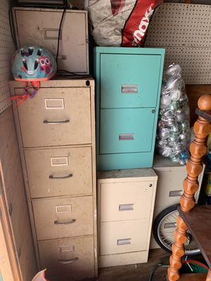 File cabinets, good working order for Sale in Fort Pierce, FL