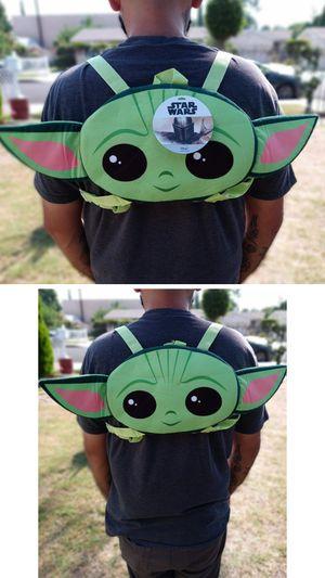 🔥🔥Brand New Baby Yoda Backpack/ Disney's The Mandalorian/Starwars/ for Sale in El Monte, CA