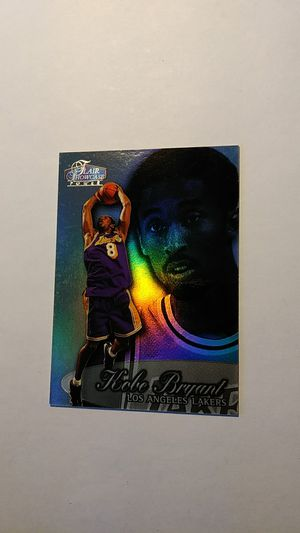 Kobe Bryant Flair Showcase 1998-99 3nd Year Rookie Foil Card for Sale in Cape Coral, FL