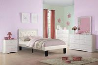 Twin bed frame in wood $160 with mattress $250 for Sale in Miami, FL