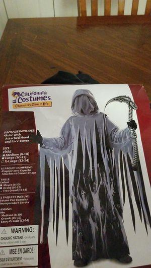 Grim Reaper Halloween costume kids XL 12-14 for Sale in Columbia, MD