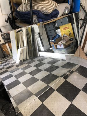 Free bathroom wall mirrors. Large 2 available for Sale in Coral Springs, FL
