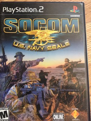 PS2 Call of Duty 3. or Socom Navy Seals for Sale in Hyattsville, MD