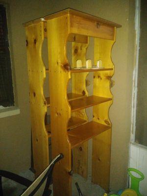 2 bookshelves or over the toilet shelving for Sale in Eagle Lake, FL