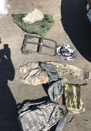 Camo and Army gear for Sale in DuPont, WA