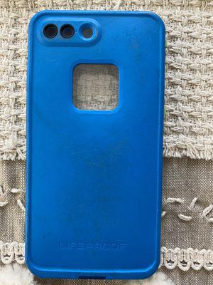iPhone 7 Plus blue Lifeproof case, phone case, lifetime warranty for Sale in Irvine, CA