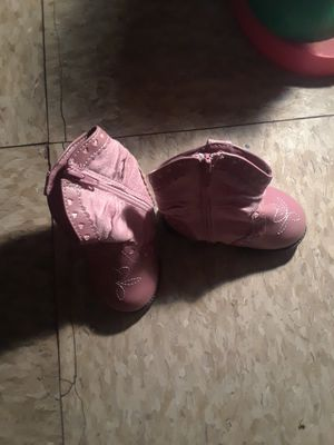 Baby cowboy boots size 2 for Sale in Fowler, CA