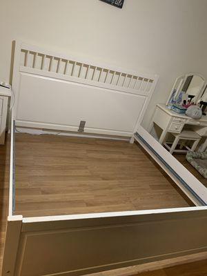 FREE Ikea KING BED FRAME ( please read description) for Sale in Biscayne Park, FL