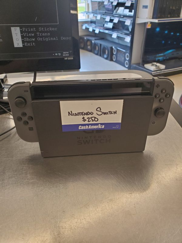 Nintendo Switch system w/Charger $250 OBO