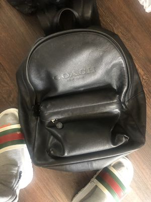 Used men's coach backpack $100 no offers for Sale in Los Angeles, CA