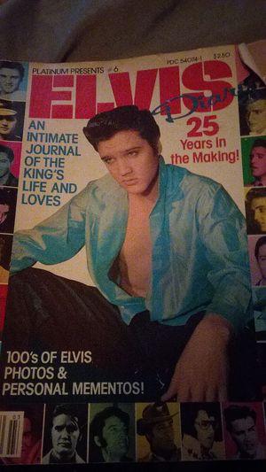 Elvis magazine Platinum presents number 6 for Sale in Baltimore, MD