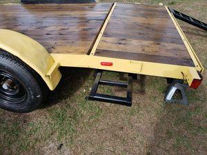 Homemade 16 ft car hauler for Sale in MAGNOLIA SQUARE, FL