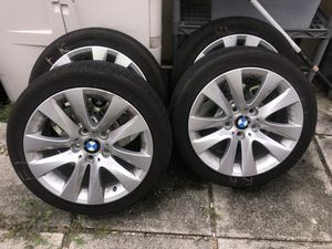 328I BMW Rims on Michelin Tires for Sale in Hollywood, FL