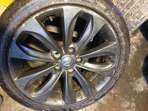 "4-Nissan rims and tires 18"" for Sale in Queens, NY"