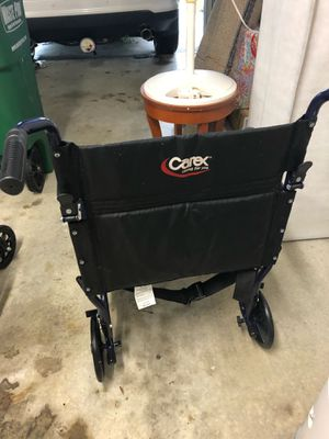 Portable wheelchair and a standard wheelchair $25 .00 each for Sale in Sebastian, FL