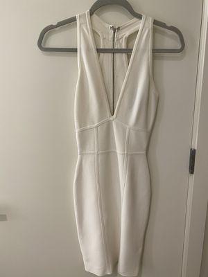 BCBG white Bandage dress xs for Sale in Seattle, WA
