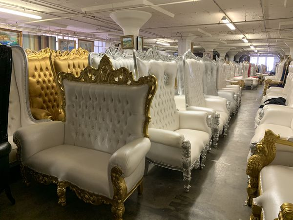 Beautiful double throne loveseat.$2200. Best offer