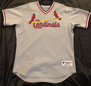 Authentic St. Louis Cardinals Jersey Throwback siz for Sale in St. Louis, MO