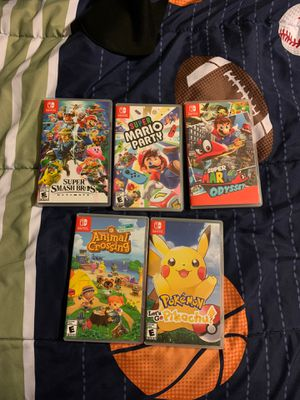 Nintendo Switch Games for Sale in Dinuba, CA