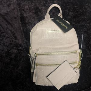 Steve Madden Blush Pink Backpack NWT for Sale in Broadview Heights, OH