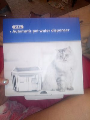 Automatic pet water fountain for Sale in Jefferson City, MO