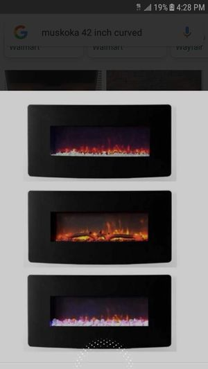 """New 42"""" electric fireplace for Sale in Westchester, IL"""