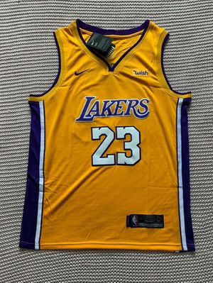 LeBron James Los Angeles Lakers New Men's NBA Basketball Home Yellow Jersey - Size L and XL for Sale in Chicago, IL