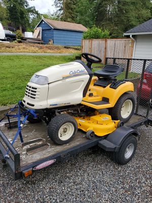 2008 Cub Cadet Tractor Lawn Mower for Sale in Edgewood, WA