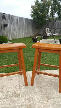 Little bar stool...wood.. for Sale in Dallas,  TX
