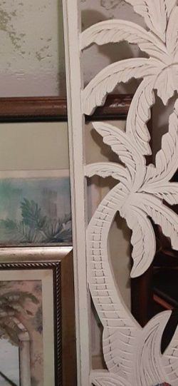 Nice 3 Palm Wall Decor $28.00 Cash Only (Serious Buyers) for Sale in Dallas,  TX