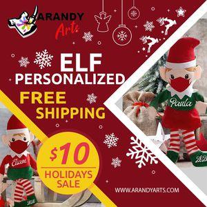 """Christmas Elf Personalized """"elf para navidad personalizados """" for Sale in Orlando, FL"""