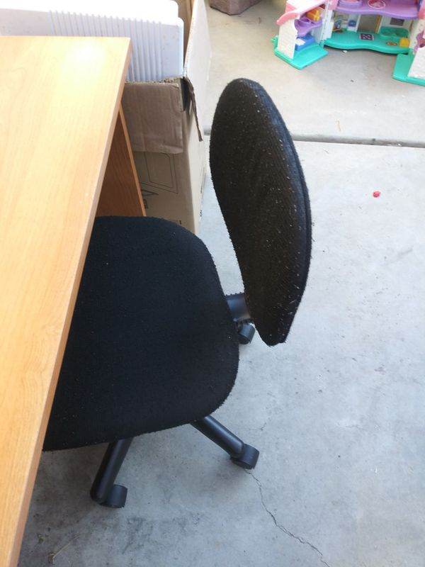Desk and chair