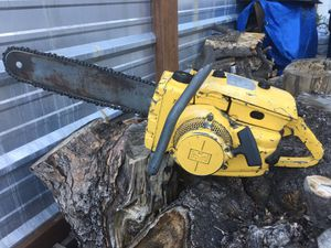 McCulloch 250 Chainsaw 1960s for Sale in Mountain Center, CA