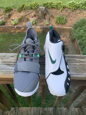 2 pairs of Nike basketball shoes size 10.5 for Sale in King, NC